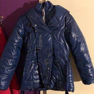 Girls flag blue Tommy Hilfiger coat